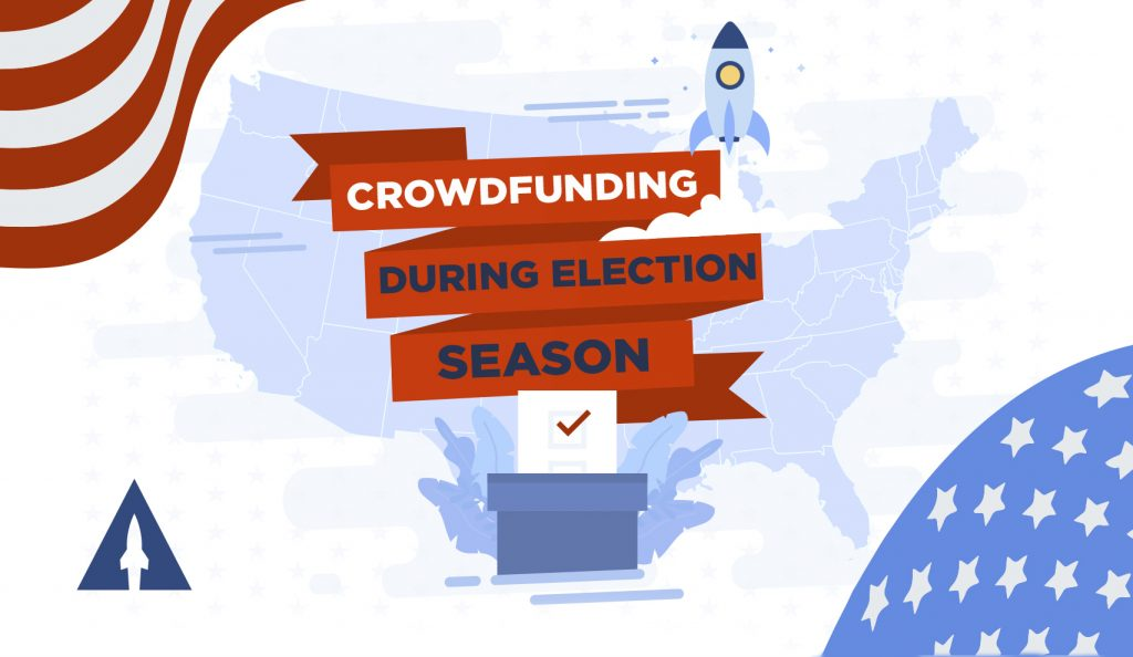 Crowdfunding During Election Season title card